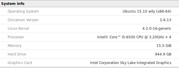 Ubuntu correct graphics driver settings
